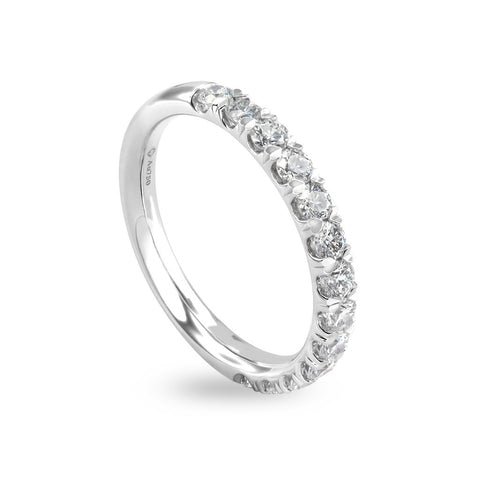 0.66CTS LMD LIFETIME THE LOVEMARK BAND IN PLATINUM
