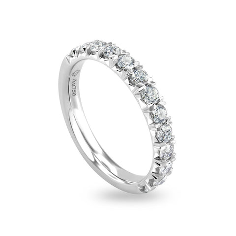 0.67CTS LMD LIFETIME THE LOVESTRUCK BAND IN PLATINUM