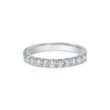 2MM CHANNEL PAVÉ-SET DIAMOND RING IN 18K WHITE GOLD - 0.75ct
