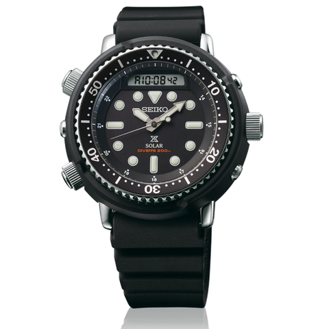 "(PRE ORDER SEPTEMBER 2019) SEIKO Solar ""TUNA"" Dive Watch Analog/Digital SNJ025"