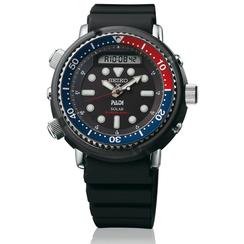 "(PRE ORDER SEPTEMBER 2019) SEIKO Solar ""Tuna"" PADI Dive Watch SNJ027"