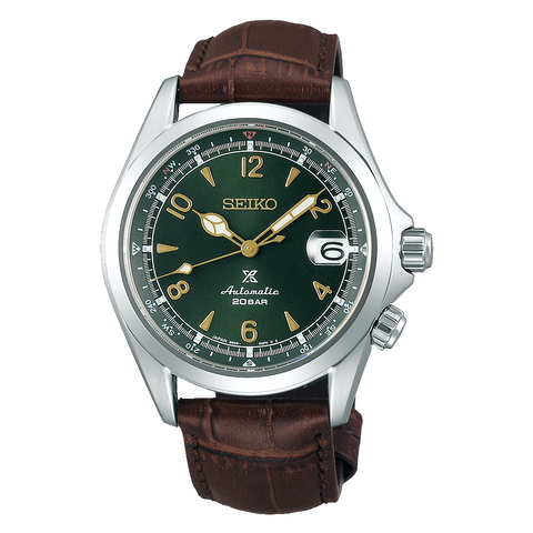 (PRE-ORDER IN FEB 2020) SEIKO PROSPEX ALPINIST IN GREEN DIAL SPB121J1