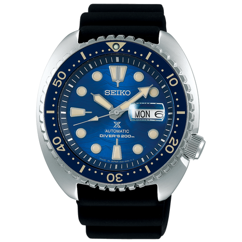 "SEIKO PROSPEX KING TURTLE  ""SAVE THE OCEAN"" GREAT WHITE SHARK SRPE07K1"
