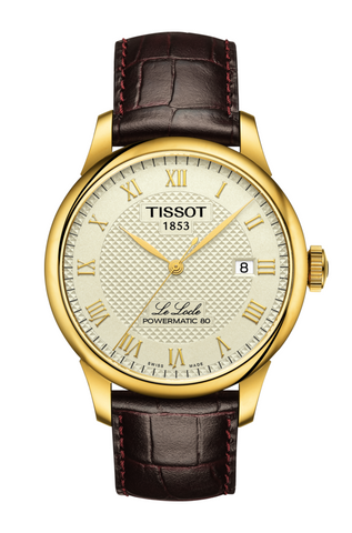 TISSOT LE LOCLE POWERMATIC 80 IN GOLD