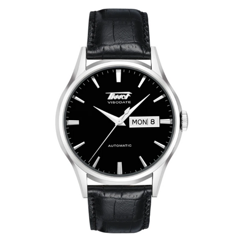TISSOT HERITAGE VISODATE AUTOMATIC BLACK DIAL