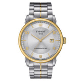 TISSOT LUXURY POWERMATIC 80 IN SILVER T0864072203700