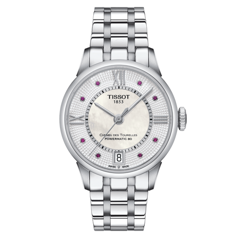 TISSOT CHEMIN DES TOURELLES POWERMATIC 80 LADY T0992071111300