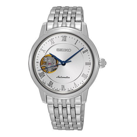 SEIKO PRESAGE OPEN HEART AUTOMATIC WATCH