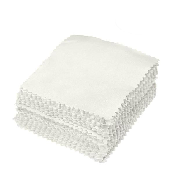Jewelry Cleaning and Polishing Cloth - 50 pieces