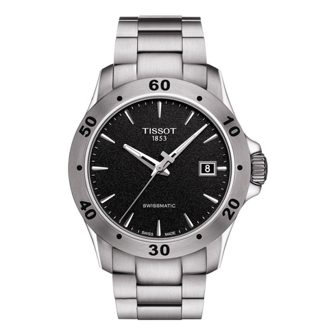 TISSOT V8 SWISSMATIC BLACK FACE