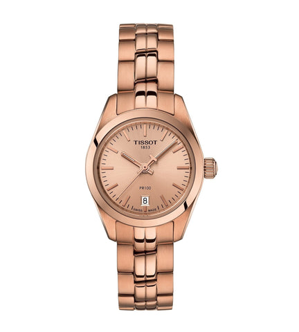 TISSOT PR 100 LADY SMALL ROSE GOLD T1010103345100