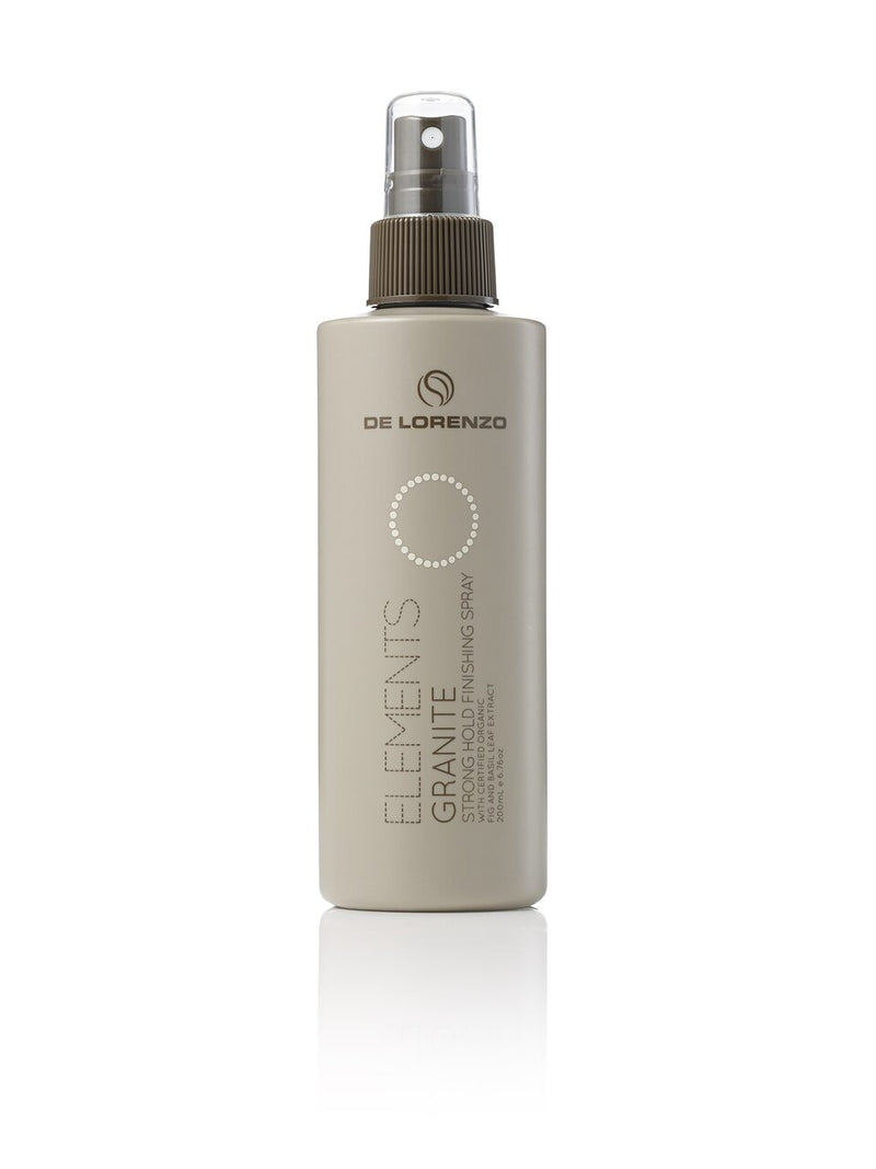 De Lorenzo Elements Granite Non Aerosol Hair Spray 200ml