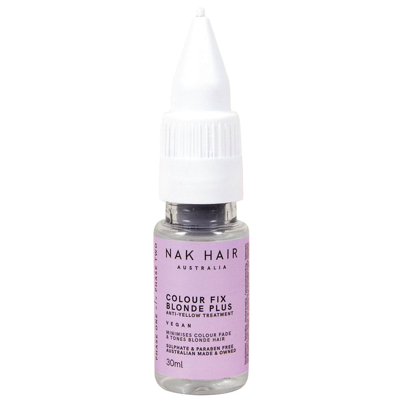 NAK Colour Fix Blonde Plus 30ml