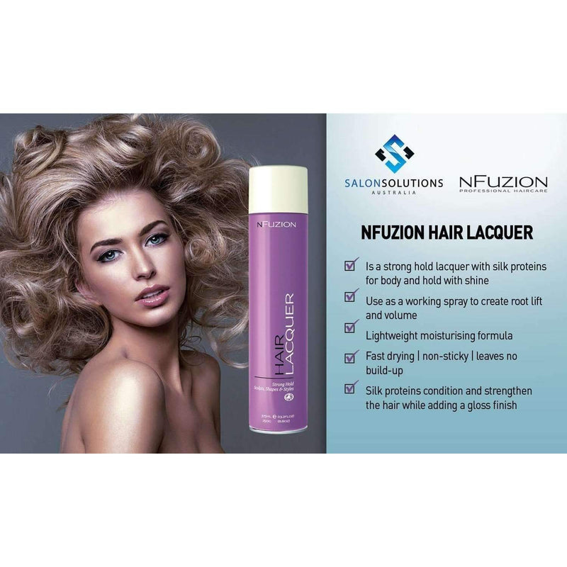 NFuzion Professional Hair Lacquer 375ml,Salon Supplies To Your Door