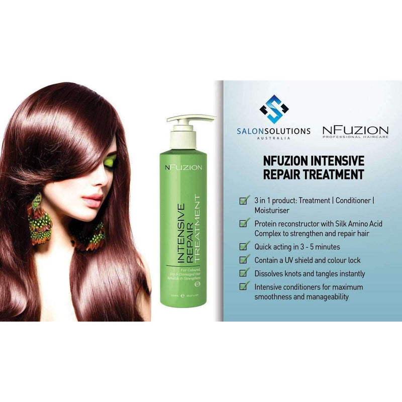 NFuzion Professional Intensive Repair Treatment 250ml,Salon Supplies To Your Door