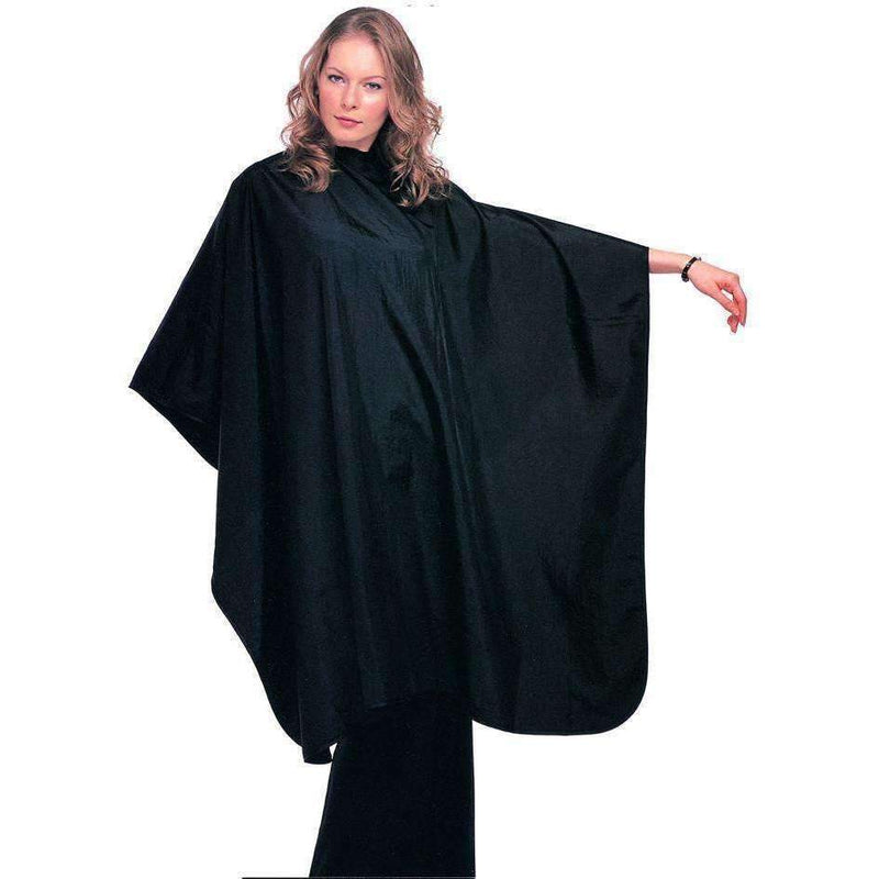 Wahl 100% Waterproof Polyester Cutting Cape Black,Salon Supplies To Your Door