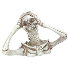 Design Toscano Shriek the Skeleton Statue: Large - Zombie Statue - Halloween Prop