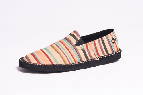 Poncho Stripe- In His Steps® Women's Shoe
