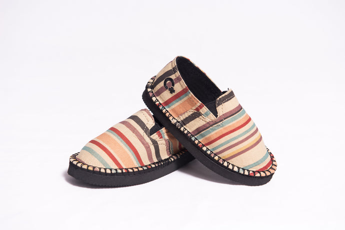 Poncho Stripe- In His Steps® Toddler Shoe