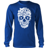 Pitbull Skull Mens Long Sleeve