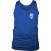 Mens Tank Skull Pitty Design