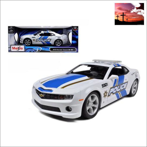 2010 Chevrolet Camaro RS SS Police 1/18 Diecast Model Car by Maisto Chevrolet Models Camaro Models, Chevrolet Models, die cast model cars