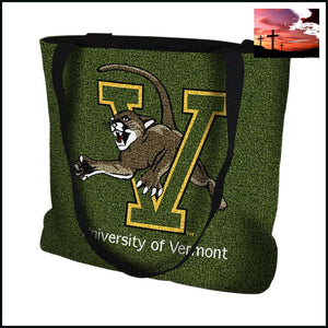 Pure Country Weavers Outdoor Travel University of Vermont Catamount Tote Bag Tote Bag $20 - $50 Accessories ACCESSORY affordable gifts
