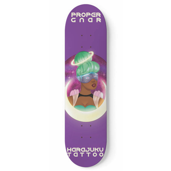 Space Girl x Harajuku Tattoo Board