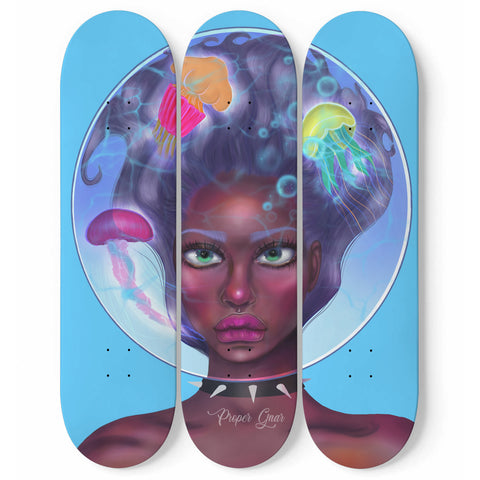 "Jellyfish Skateboard Set 8.25"" - Proper Gnar"