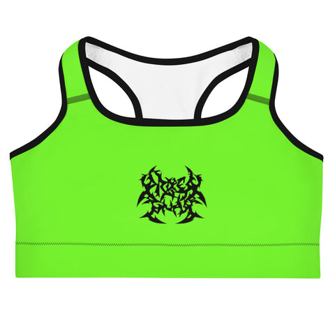 Metal Logo Sports Bra