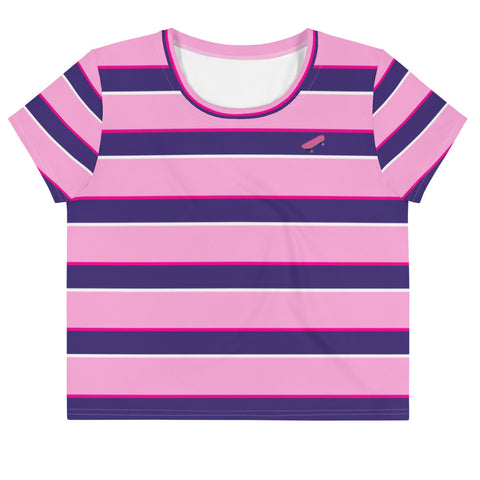 Lavonne Striped Crop Tee - Proper Gnar