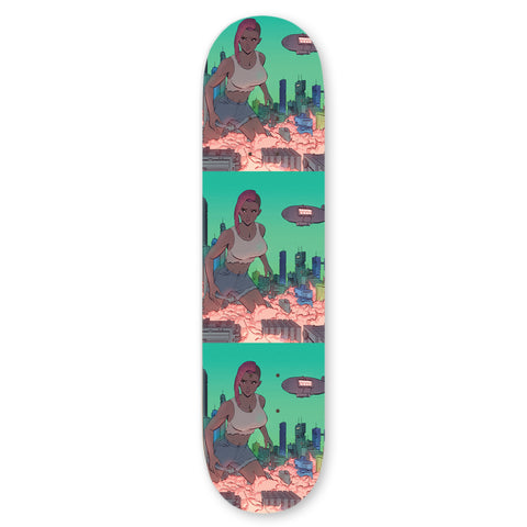 Fifty Foot Woman Skateboard deck - Proper Gnar