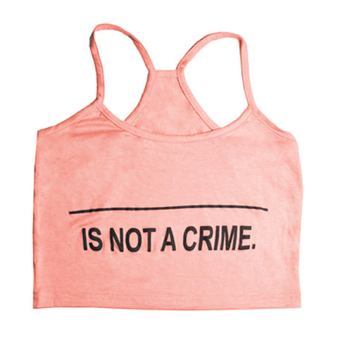 Not A Crime Halter