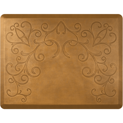 "Outlet – Designer Series Bella Copper Leaf 4' x 5' x 3/4"" No Chair Depression"