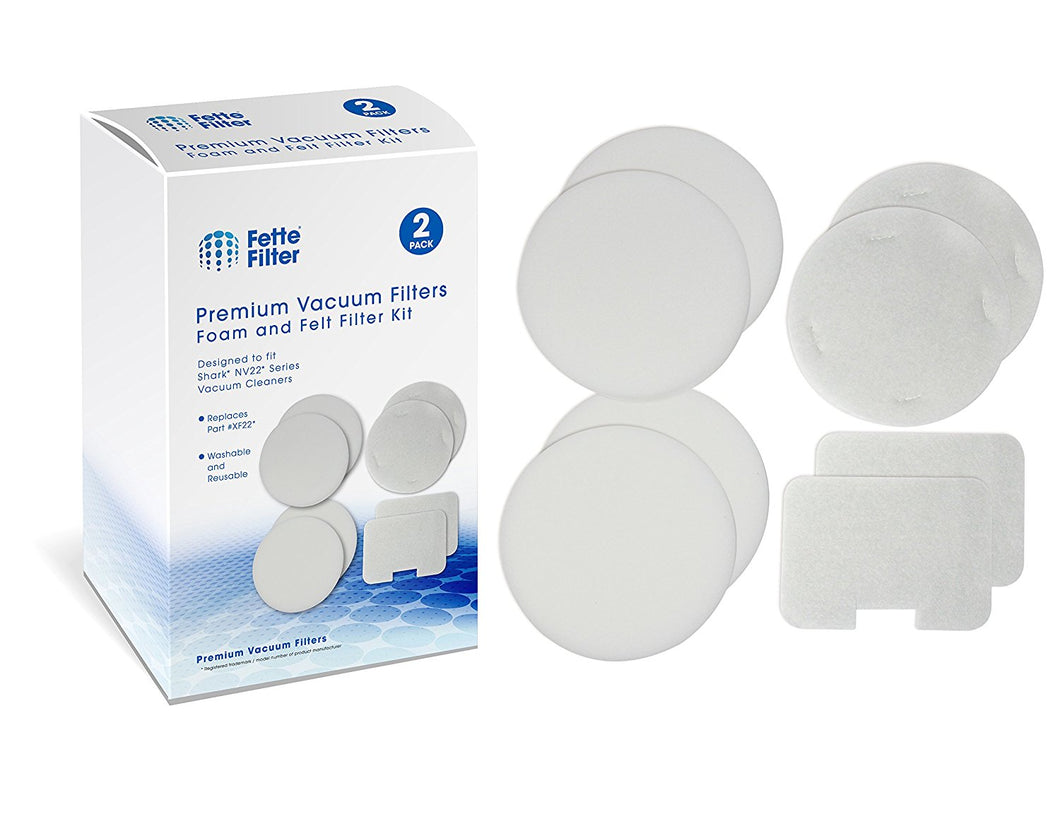 Shark Compatible HEPA Filter and Foam & Felt Filter Sets