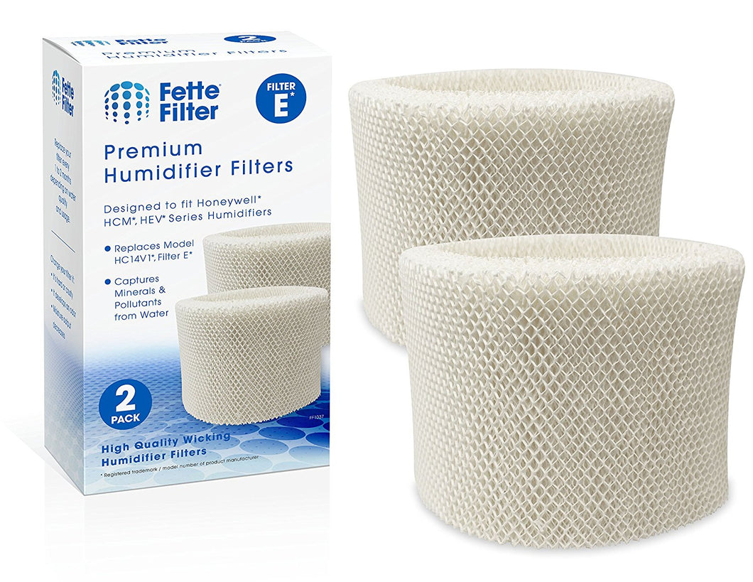 2-PACK - Honeywell HC-14V1, HC-14, HC-14N Compatible Wicking Humidifier Filter, Filter E