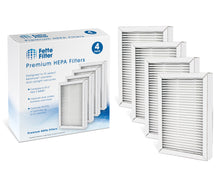 Fette Filter 4-Pack - Kenmore EF-2 Compatible Exhaust HEPA Vacuum Filter (compares to 86880) and for Panasonic (compares to MC-V194H)