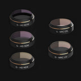 DJI Mavic Pro Premium Lens Filter 5-pack (G-UV, ND4, ND8, ND16, CPL)