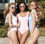 Angelic One Piece Swimsuit (5 Colors) - The Urban Doll