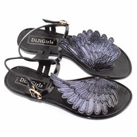 Goddess Wing Sandals - The Urban Doll