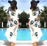 Evil Eye Swimsuit Cover Up - The Urban Doll