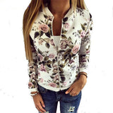 Floral Bomber Jacket - The Urban Doll