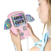 Game Over Hologram Purse - The Urban Doll