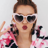 Heartbreaker Cat Eye Sunglasses - The Urban Doll