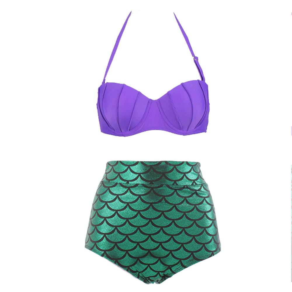 Mermaid Bikini Set - The Urban Doll