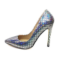 Mermaid High Heel Pumps - The Urban Doll