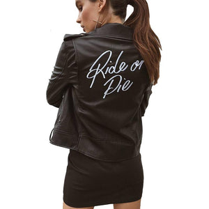 Ride or Die Motorcycle Jacket - The Urban Doll