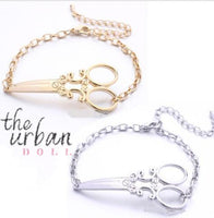 Scissor Charm Bracelet - The Urban Doll