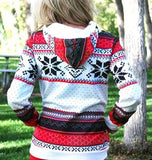 Holiday Snowflake Hoodie - The Urban Doll