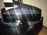 Star Studded Rhinestone Oversized Sunglasses - The Urban Doll